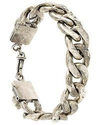 Emanuele Bicocchi - Thick Cable Bracelet - Lyst
