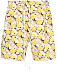Rochambeau Sport Shorts - Yellow