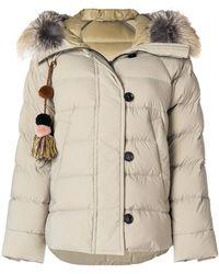 Peuterey - Fur Trim Puffer Jacket - Lyst