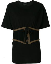 Kendall + Kylie - Corset T-shirt - Lyst
