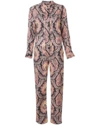 Isabel Marant - All-over Print Jumpsuit - Lyst