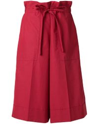 Sonia Rykiel - Paper-bag Waist Shorts - Lyst