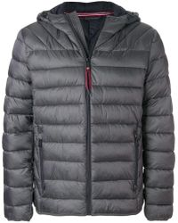 Napapijri - Hooded Padded Jacket - Lyst