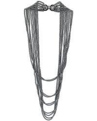 Oscar de la Renta - Multi Strand Pearl Necklace - Lyst