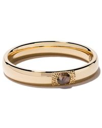 De Beers - 18kt Yellow Gold Talisman Diamond 3mm Band - Lyst