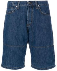 Marni - Denim Shorts With Turn Up Cuffs - Lyst