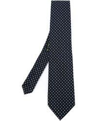 Etro - Dotted Print Tie - Lyst