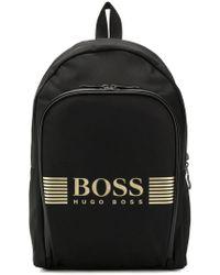 BOSS - Рюкзак С Логотипом - Lyst
