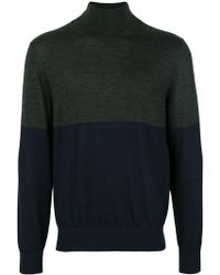 JOSEPH - High Neck Novelty Knit Jumper - Lyst
