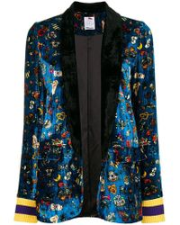 Ultrachic - Floral Embroidered Blazer - Lyst
