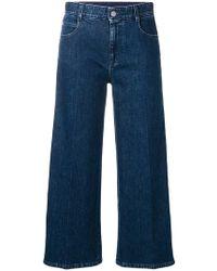 Stella McCartney - Sm Cropped Jeans - Lyst