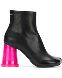 MM6 by Maison Martin Margiela - Colour-block Ankle Boots - Lyst
