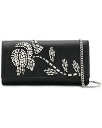 MICHAEL Michael Kors - Crystal Flower Clutch - Lyst
