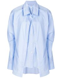 Y. Project - Layered Shirt - Lyst