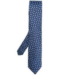 Lanvin | Bird Pattern Tie | Lyst