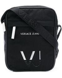 Versace Jeans - Mini Logo Messenger Bag - Lyst