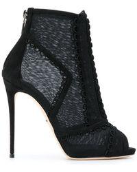 Dolce & Gabbana - Stivaletto alla caviglia con tacco - Lyst