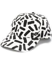 Dolce & Gabbana - Abstract Print Baseball Cap - Lyst