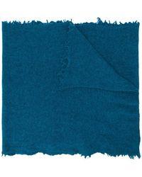 Altea - Frayed edge scarf - Lyst