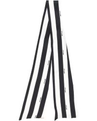 Styland - Striped Thin Scarf - Lyst