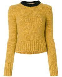 Marni   Colour Block Sweater   Lyst