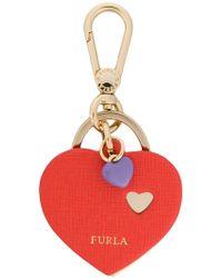 Furla - Venus Heart Keyring - Lyst