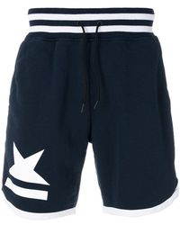 Hydrogen | Striped Track Shorts | Lyst