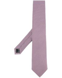 Gieves & Hawkes - Embroidered Stripe Tie - Lyst