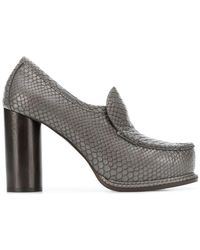 Stella McCartney - Snake Embossed Puumps - Lyst
