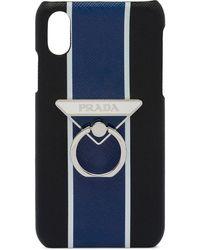 Prada Coque d'iPhone X and XS - Noir