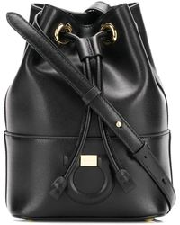 Ferragamo Small City Bucket Bag