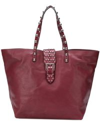 RED Valentino - Studded Oversized Tote - Lyst