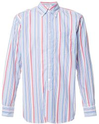 Engineered Garments - Striped Shirt - Lyst