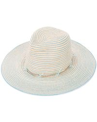 Gigi Burris Millinery | Striped Hat | Lyst
