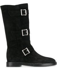 Twin Set - Triple Buckle Boots - Lyst
