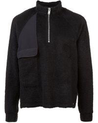 Siki Im - Shearling Zipped Sweater - Lyst
