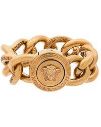 Versace | Large Link Medusa Bracelet | Lyst