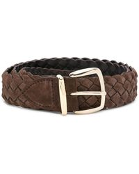 Eleventy - Classic Woven Belt - Lyst