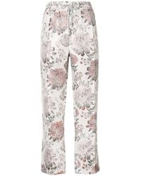 Reality Studio - Floral Print Trousers - Lyst