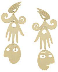 Tory Burch - Surreal Drop Earrings - Lyst
