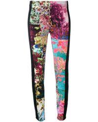 A.F.Vandevorst | Floral Panel Leggings | Lyst