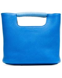 Simon Miller - Blue Birch Mini Leather Tote - Lyst