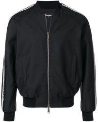 DSquared² - Sequinned Bomber Jacket - Lyst