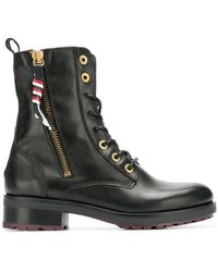 Tommy Hilfiger - Military Ankle Boots - Lyst