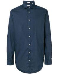 Massimo Alba - Button Up Shirt - Lyst