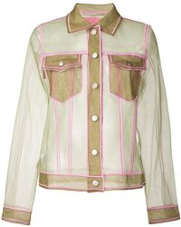 Viktor & Rolf - Sheer Fitted Jacket - Lyst