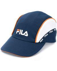 f3a4eea3fdc Hot Fila - Logo Baseball Cap - Lyst