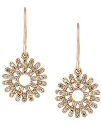 Astley Clarke - 'rising Sun' Diamond Drop Earrings - Lyst