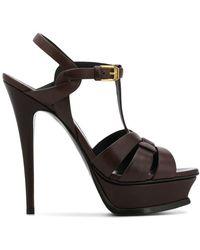 Saint Laurent - Tribute 105 Open-toed Sandals - Lyst