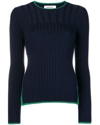 Enfold - Ribbed Round Neck Jumper - Lyst